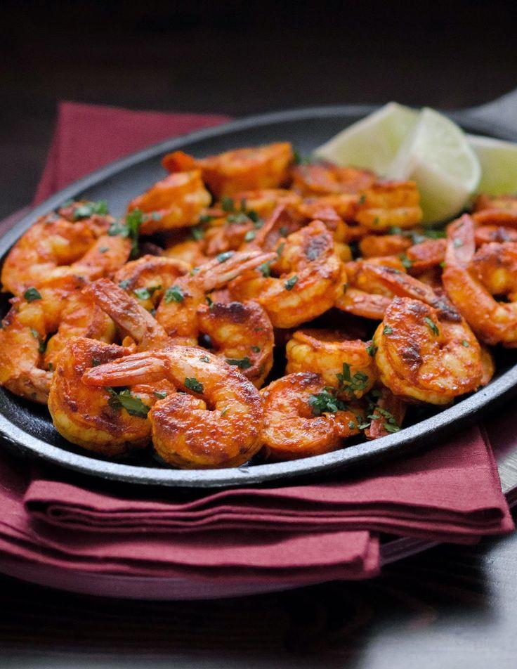 Mangalorean Fried Prawns With Chilli and Vinegar (Sungtan Meeth Mirsang) ~ The Tiffin Box