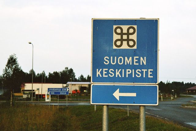 Suomen keskipiste #siikalatva #finland