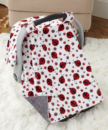 Look what I found on #zulily! Scarlet Ladybug Car Seat Canopy by Lolly Gags #zulilyfinds