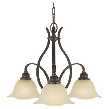 Feiss morningside collection 3 light chandelier dining room light