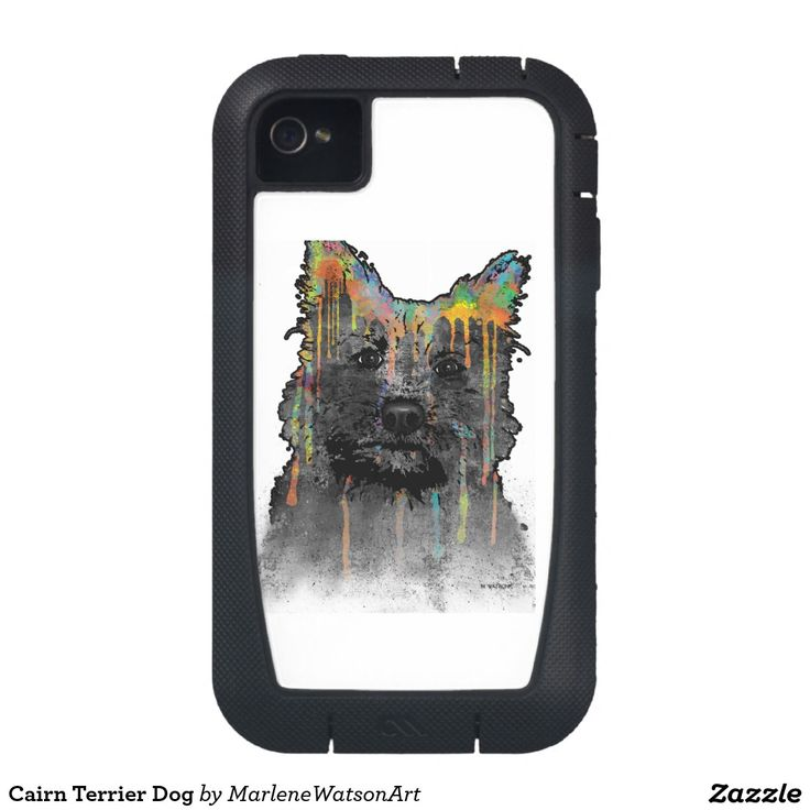Cairn Terrier Dog Case-Mate iPhone 4 Cases