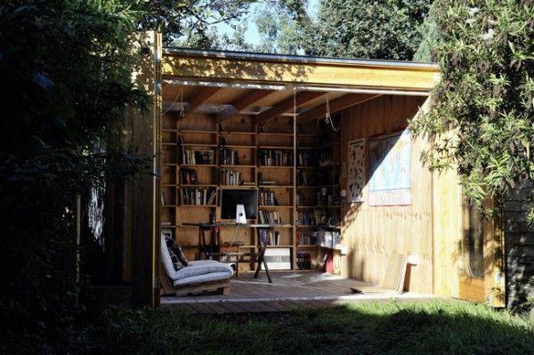 Cool garden meeting room #interior artist-studio-in-hackney-london-6