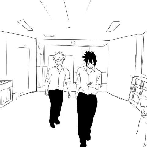 Mi hermano ve Naruto. No es fundanshi pero se que lo shippea >:v Es una corazonada UuU