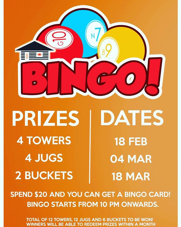 Though CNY is over our parties ain't stopping! Mark the dates below and stand a chance to win some free drinks!  Event: Bingo Night Dates: 18/2 04/03 18/03 Prizes for each date: 4 towers 4 jugs and 1 bucket  Make sure you make a reservation early!  #brewlings  #serangoon #serangoongarden  #beer #bingo #sgpubs #igsg #instagramsg #exploresg