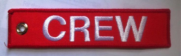 CREW  Key Tag, Bag Tag, Zipper Pull #DefenceGifts #KeyTag