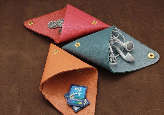 A cute little change purse in your purse!