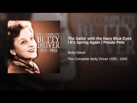 """Betty Driver a popular singer at the time who went on to become well know as """"Betty Turpin"""" in Coronation Street sang a song all about Potato Pete. It's the third song of three in this excerpt from YouTube, just click on the image to hear them."""