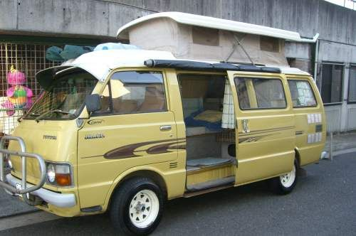 Toyota Hiace Think Small To Live Big Pinterest