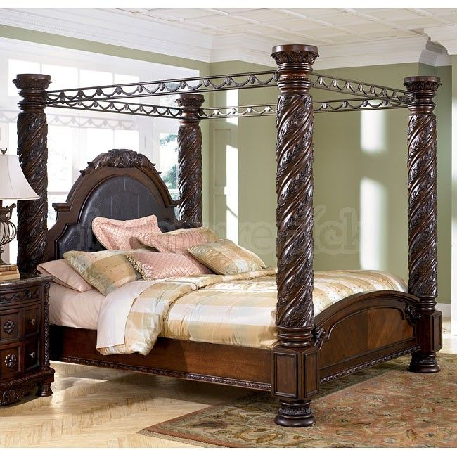 Ideas King Size Canopy Bed Luxury Designs