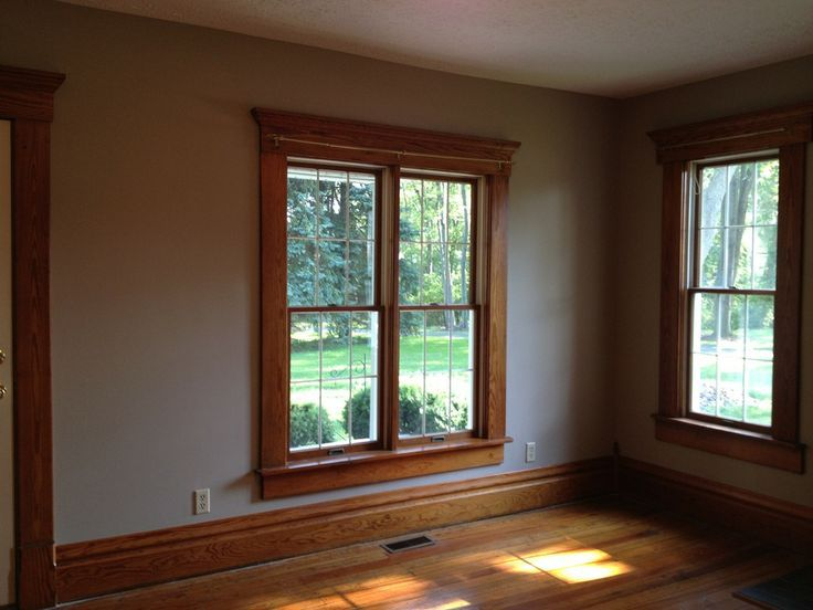 paint colors for honey oak trim paint color with mediumdark trim - Dining Room Paint Colors Dark Wood Trim