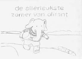 kleurplaat: de allerleukste zomer van olifant