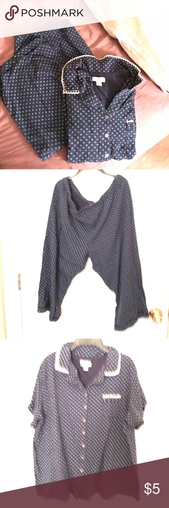 Capri night suit set Cotton based comfortable material puts you to sound sleep at night. Great pajama set. Intimates & Sleepwear Pajamas