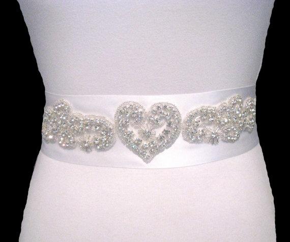 rhinestone belts wedding dresses wedding by