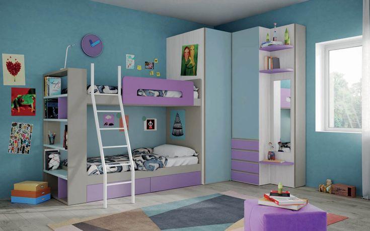 59 beste afbeeldingen van nardiinterni kinderkamers kinderkamer en ladder. Black Bedroom Furniture Sets. Home Design Ideas