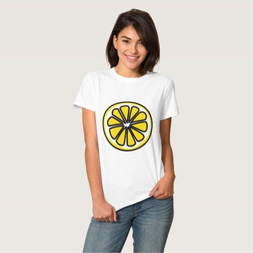 #Lemon #slice #yellow #fruit #tshirt