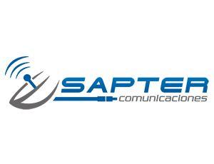Diseño de logotipo para Sapter comunicaciones.