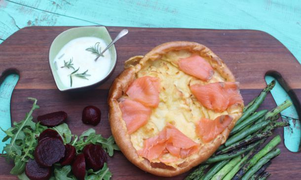 Jamie Oliver's Smoked Salmon and Yorkshire Pudding | The Quirk and the Cool