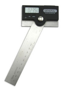 """My favorite digital protractor: PRECISION PROTRACTOR DIGITAL 6"""" STAINLESS GENERAL TOOL #1702"""