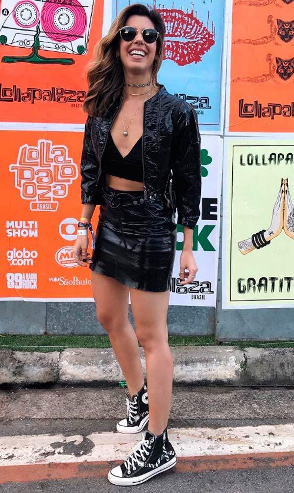 Camila Coutinho - Lollapalooza