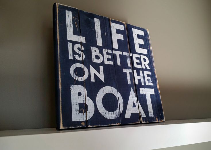 Boating sign, Boating, Life is better on the boat, Boat Sign, Boater Gift, Boat Decor, Boating Gift by WoodFinds on Etsy https://www.etsy.com/listing/269486657/boating-sign-boating-life-is-better-on