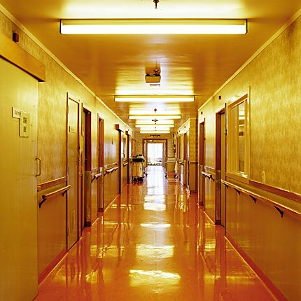 Neil Pardington - Corridor #1 of his Clinic series.