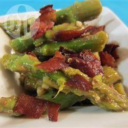 Insalata di asparagi e pancetta