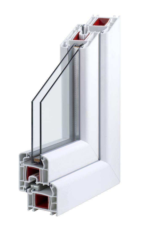 Modello Start 70. Classe energetica B. Soluzione ideale per sostituire i vecchi serramenti di casa.