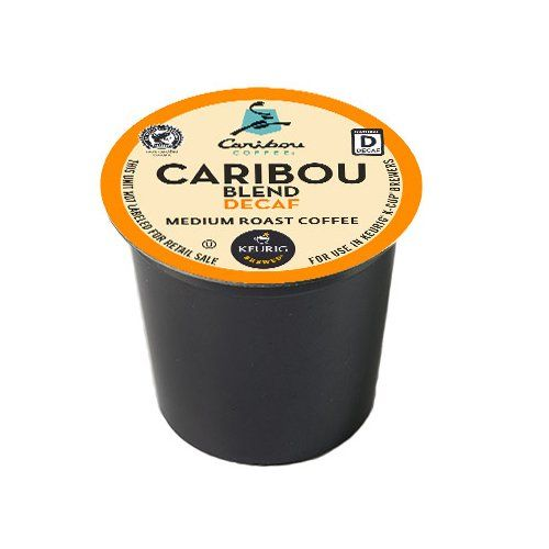 Caribou Coffee, Caribou Blend Decaf, K-Cup Portion Pack for Keurig K-Cup Brewers, 24-Count - http://thecoffeepod.biz/caribou-coffee-caribou-blend-decaf-k-cup-portion-pack-for-keurig-k-cup-brewers-24-count/