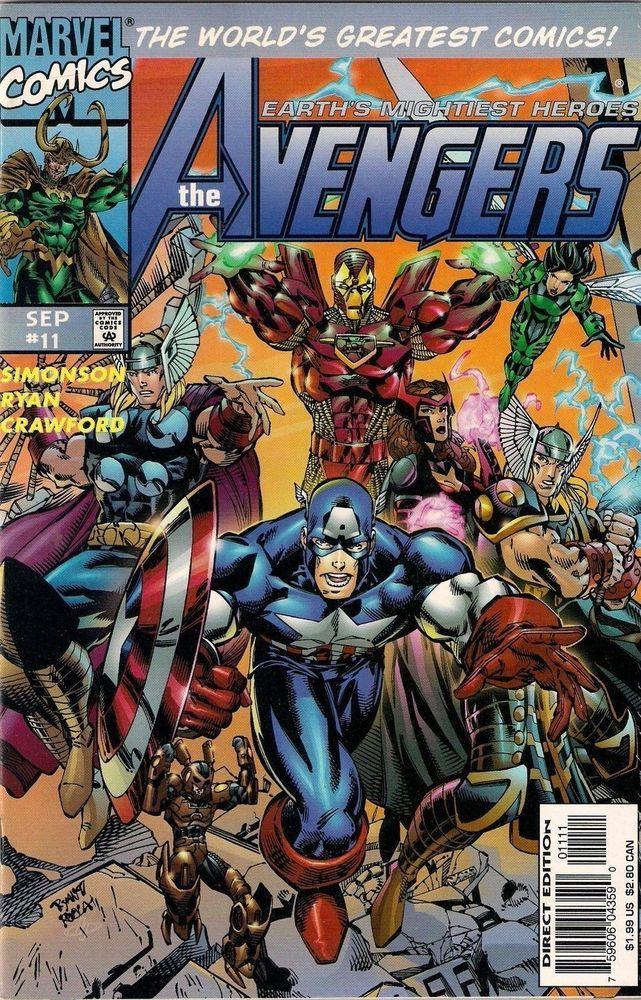 AVENGERS vol.2 # 11    MARVEL COMIC    1997    vf+
