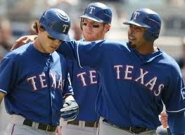 Kinsler, Hamilton & CruzNelson Cruz, Sports Team, Families Fave, Favorite Things, Josh Hamilton, Texas Rangers3, Rangers Baseball, Things Sports, America Games