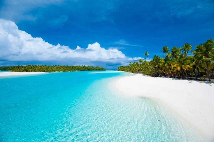 The Cook Islands in the South Pacific