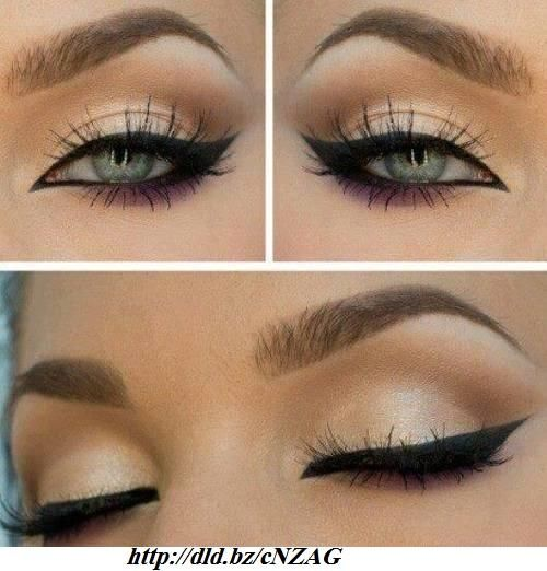 #Make-up for Brown #Eyes http://beautiesfactory.co.uk/blog/2012/12/make-up-for-brown-eyes/