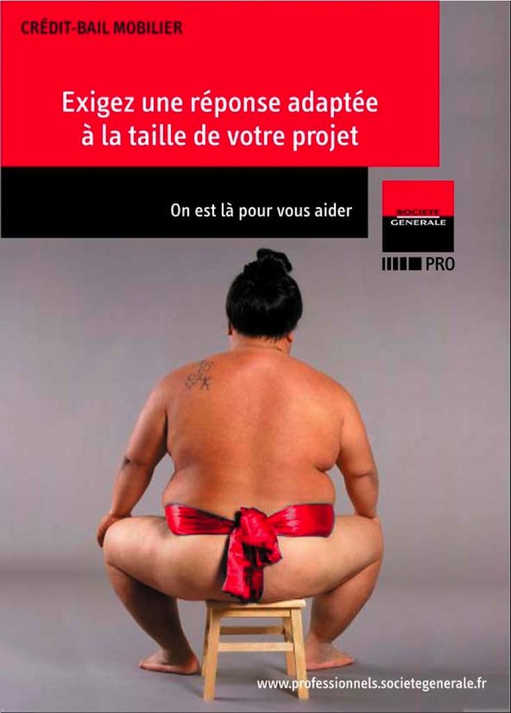 Mailing BtoB pour la Société Générale (proposition)