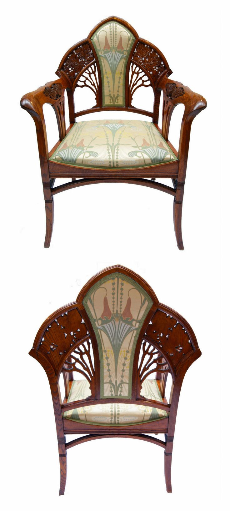 610 Best Art Nouveau Furniture Furnishings Images On Pinterest Art Nouveau Furniture Art