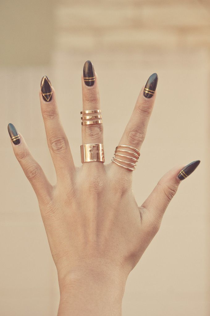 104 best Cute and Stylish Midi Rings || Gold-Soul.La images on ...