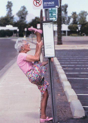 Inspiration.: Old Age, One Day, Go Girls, Inspiration, Dance Studios, Funny, Yoga, Bus Stop, Old Ladies