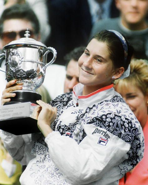 Monica Seles, French Open 1992