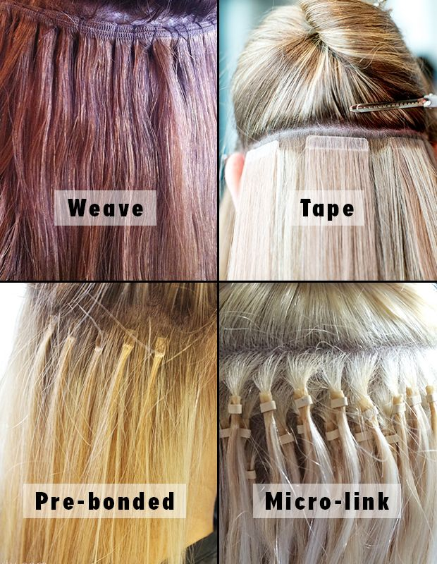How To Do Weft Hair Extensions Gallery Extension