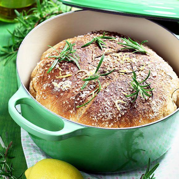 Recept på Grytbröd med rosmarin och citron från - Hemmets Journal