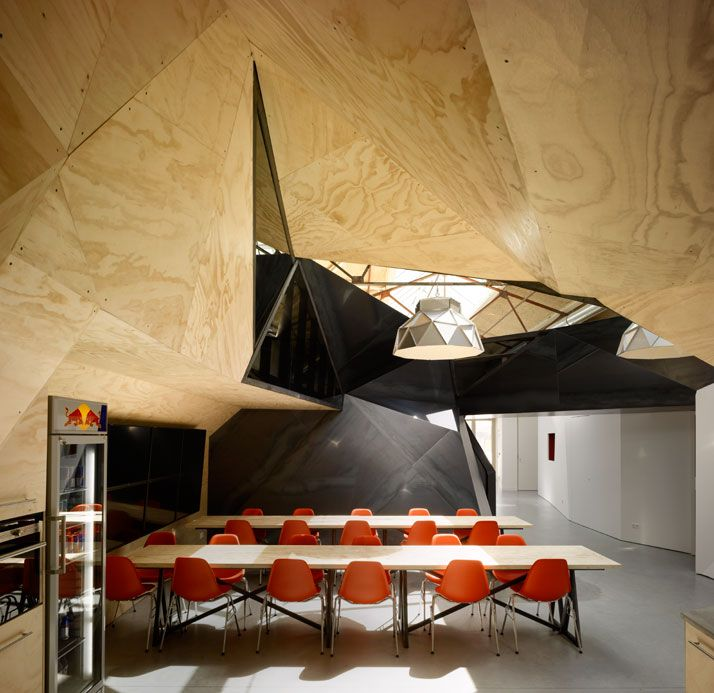 : Interior, Sid Lee, Office Design, Lee Architecture, Red Bull, Redbull