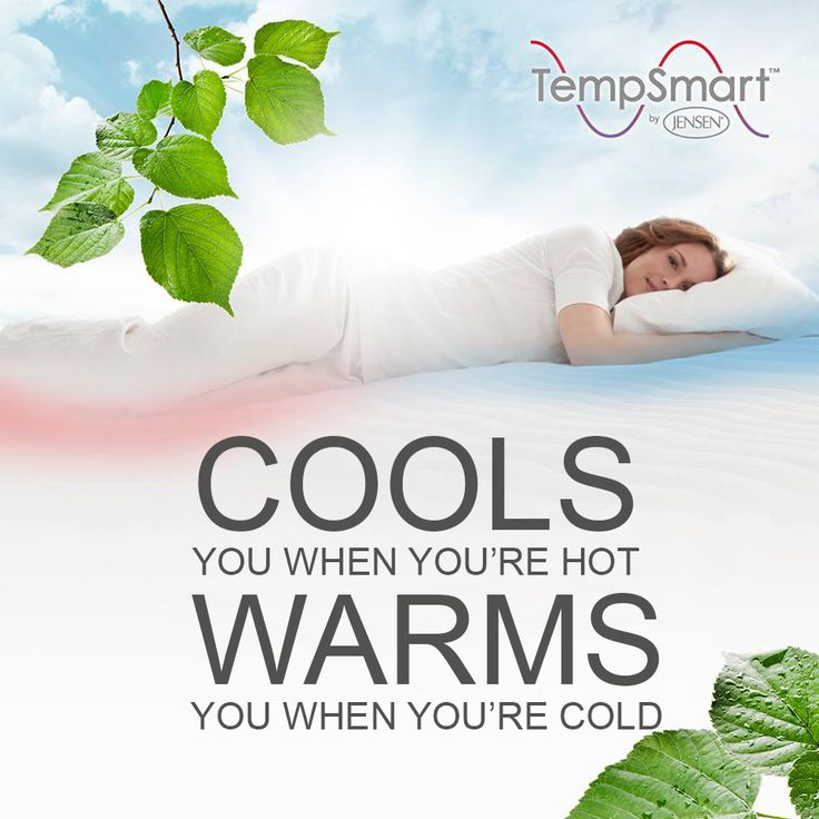 Give yourself a good night's sleep! TempSmart™ mattress topper balances the temperature changes while you sleep. Learn more about TempSmart™ in your own language on our Youtube site