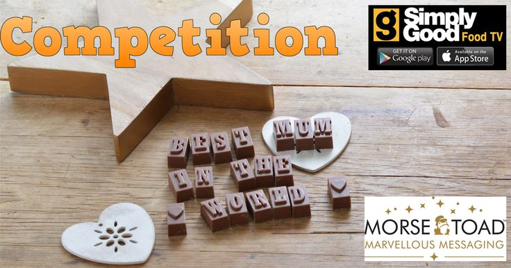 Win a personalised chocolate message for Mothers Day just click here to enter now  http://basicfront.easypromosapp.com/p/302416