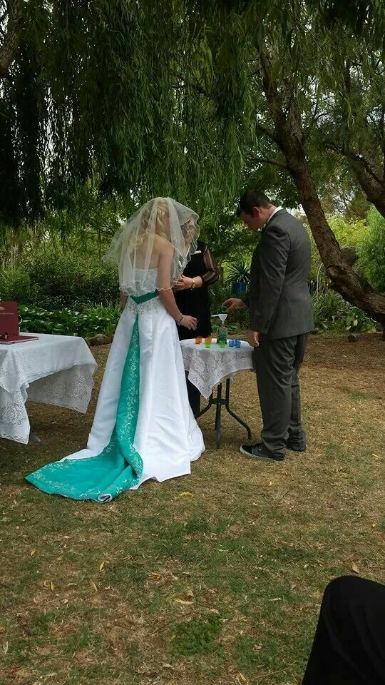 Sand Ceremony  .... Contact me for marriage celebrant services, Australia...