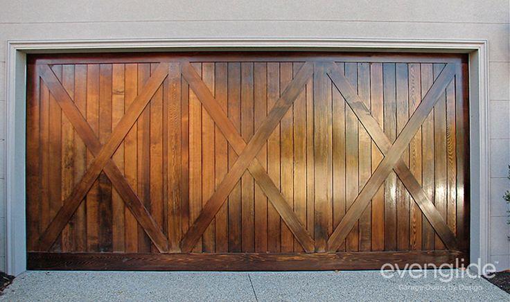 17 images about garage doors style on pinterest western for Cedar clad garage doors