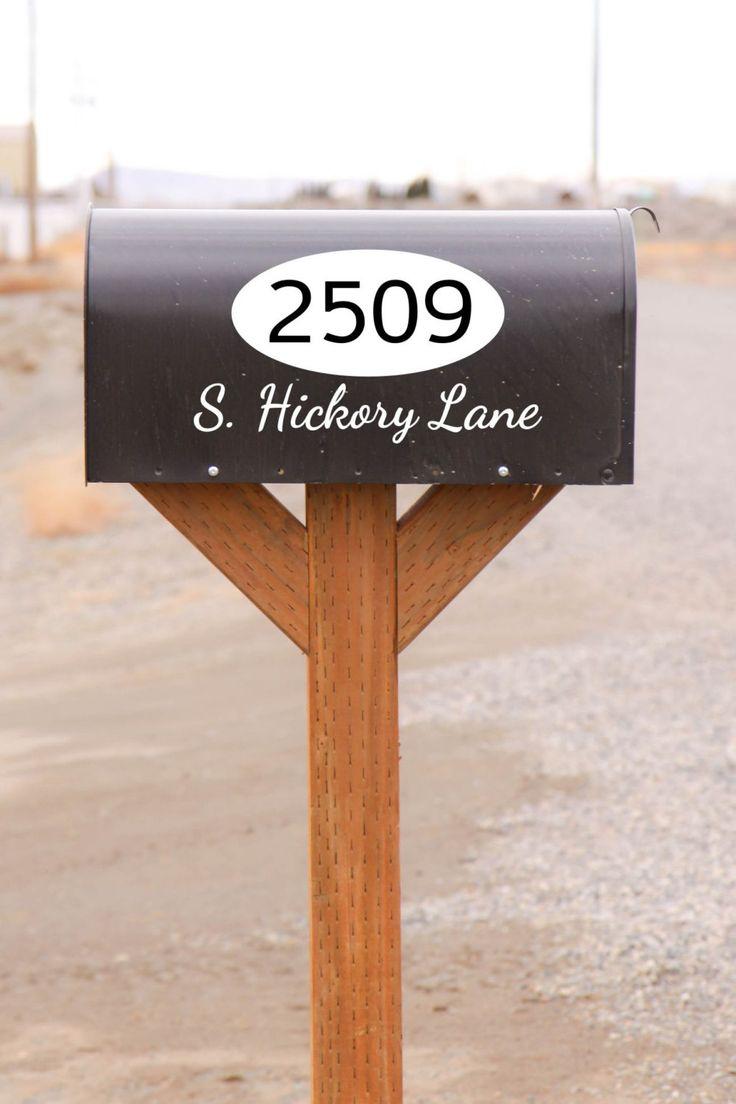 Best Door Mailbox Vinyl Decals By The Vinyl Company Images - Custom vinyl decals for business