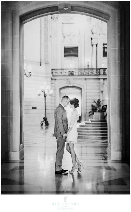 Napa Sonoma San Francisco Romantic Wedding Photography : Wes & Vanessa's City Hall Wedding Teasers