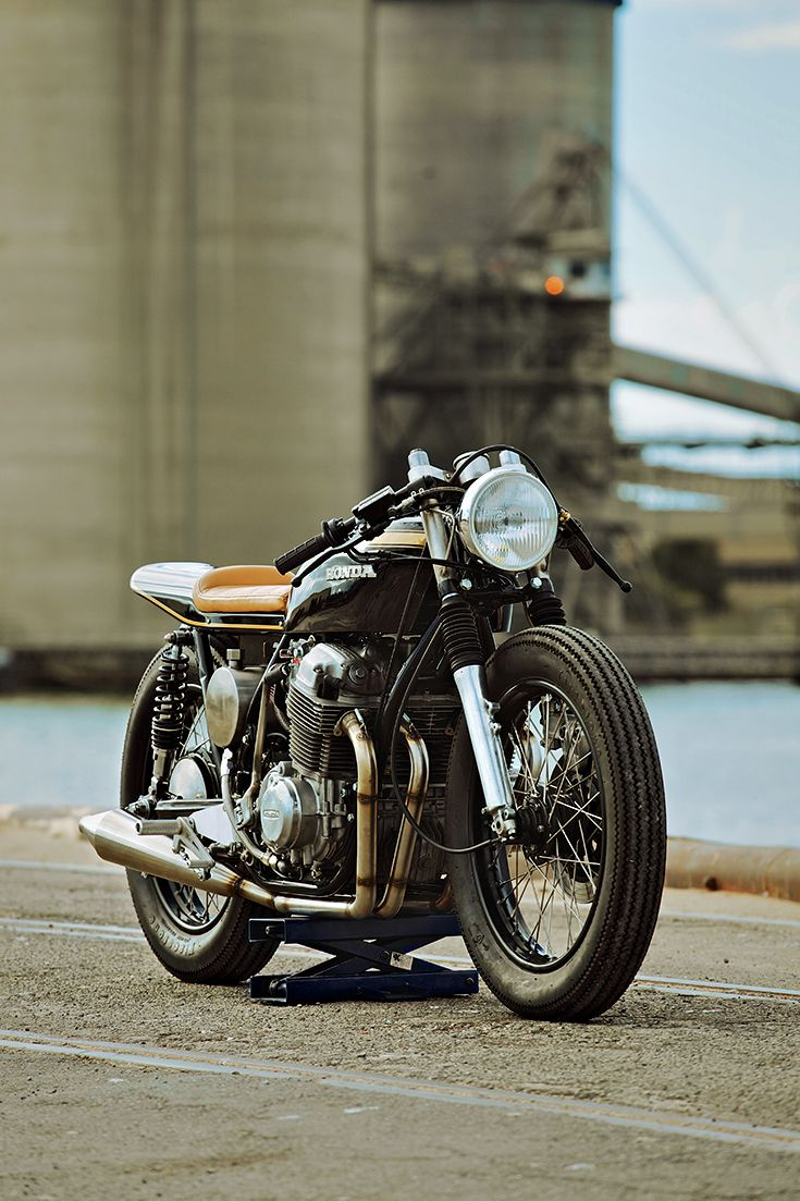Glory Road Motorcycles is a small retail space that's just opened in the heart of Adelaide, Australia. Step inside and you'll find apparel, riding accessories—and some fine stunning motorcycles, like this 1973 Honda CB750K.