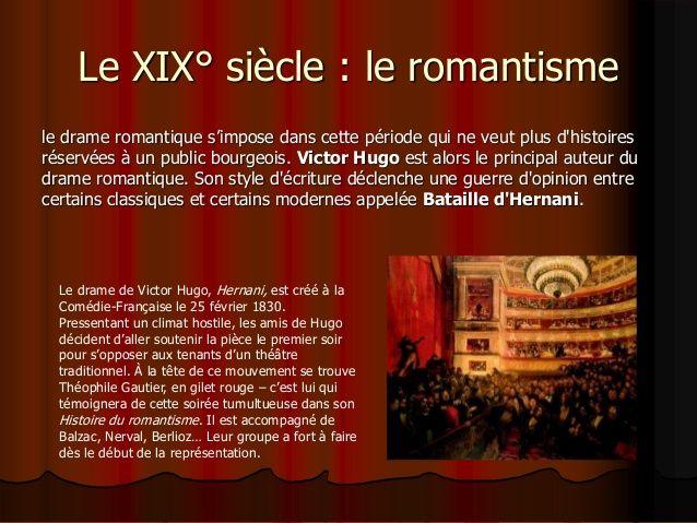 Epingle Sur Le Drame Romantique