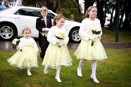 Wedding Photography, flower girls and ring bearer boy