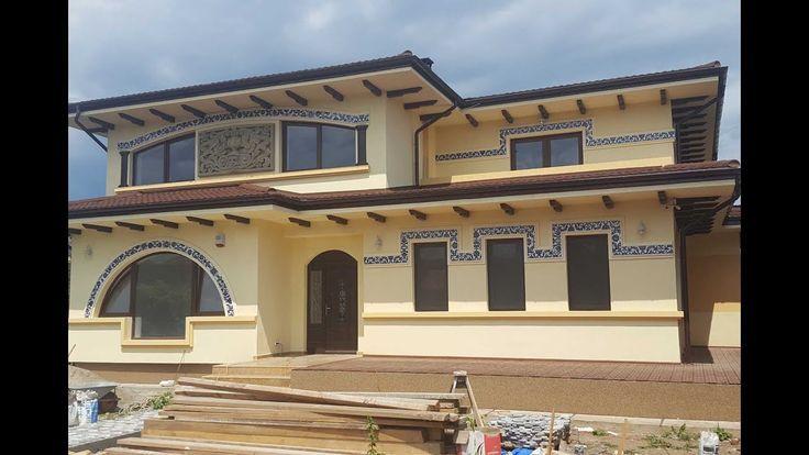 Constructii case cu structura de zidarie la cheie -  prezentarea casei d...